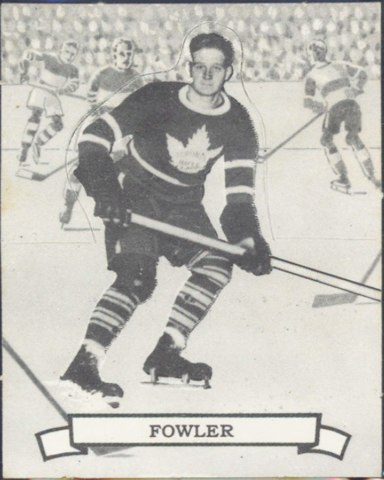 Jimmy Fowler Hockey Card 1936 O-Pee-Chee Series D No. 103