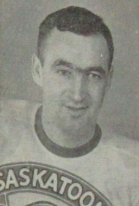 "Tom ""Tucker"" Burlington 1949 Saskatoon Quakers"