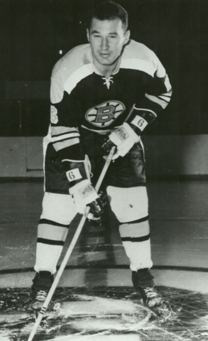 Ted Green 1962 Boston Bruins