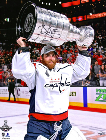 Braden Holtby 2018 Stanley Cup Champion