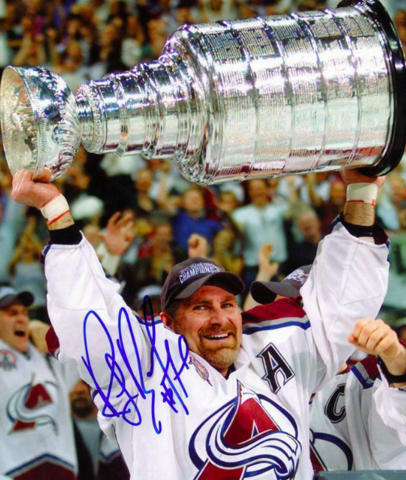 Ray Bourque 2001 Stanley Cup Champion