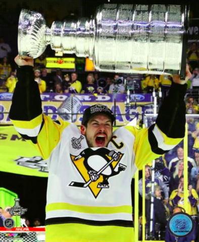 Sidney Crosby 2017 Stanley Cup Champion
