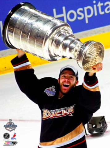 Andy McDonald 2007 Stanley Cup Champion