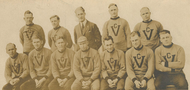 Victoria Cougars 1925 Stanley Cup Champions