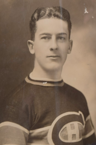Alfred Lépine 1927 Montreal Canadiens