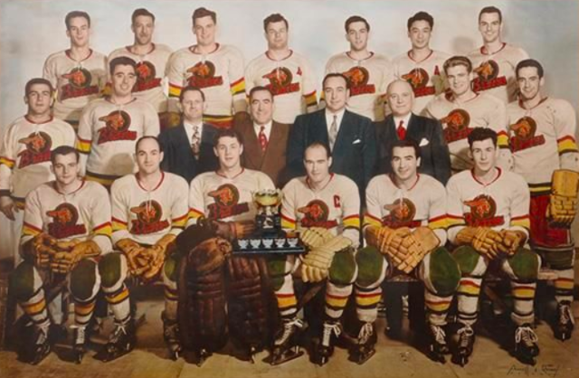 Les Braves de Valleyfield / Valleyfield Braves 1951 Alexander Cup Champions