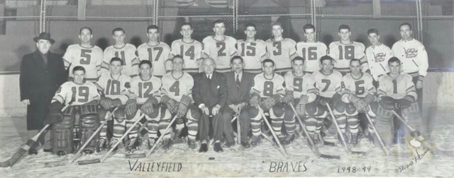 Les Braves de Valleyfield / Valleyfield Braves Team Photo 1948