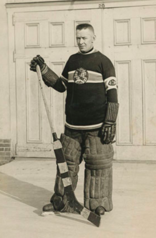 Georges Vézina 1924 Montreal Canadiens