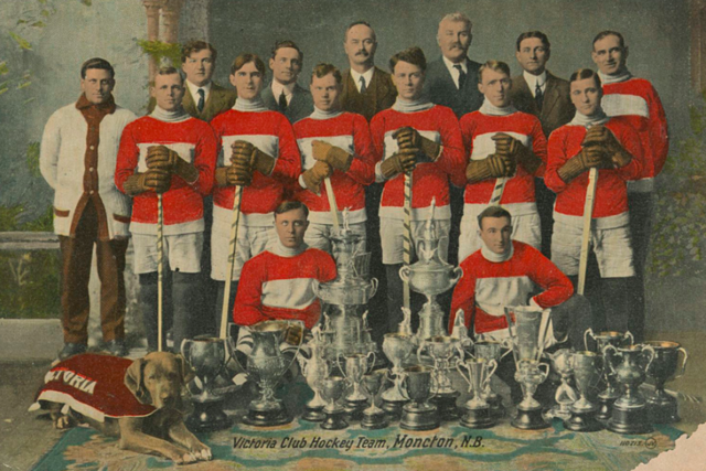 Moncton Victorias 1912–13 Victoria Club Hockey Team