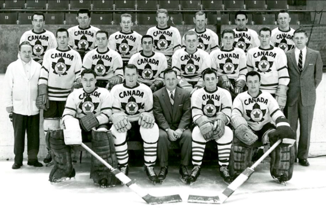 Canadian Olympic Hockey Team 1956 Kitchener-Waterloo Dutchmen
