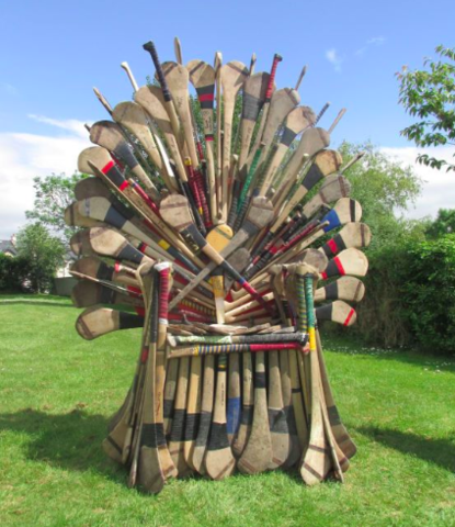 Hurley Chair - The Hurling Throne - Hurling Furniture