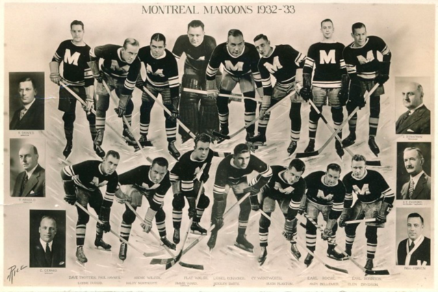 Montreal Maroons 1932