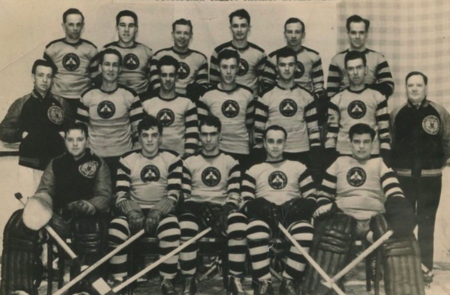 Pittsburgh Yellow Jackets Hockey Club 1935