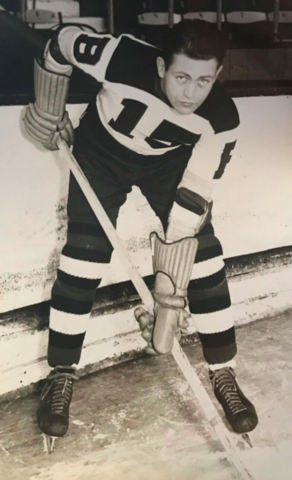 Max Kaminsky 1935 Boston Bruins
