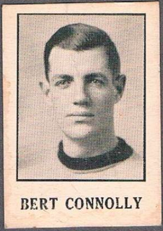 Bert Connolly Hockey Card 1933 Moncton Hawks