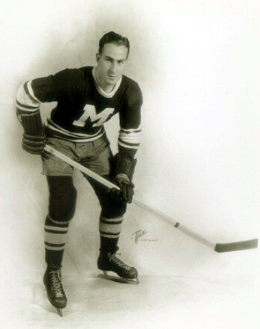 Herb Cain 1934 Montreal Maroons