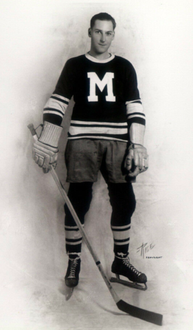 Baldy Northcott 1934 Montreal Maroons