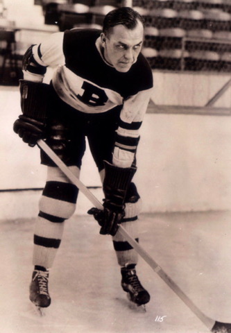 Hap Emms 1934 Boston Bruins