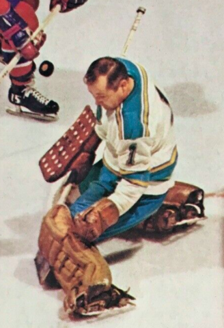 Glenn Hall 1968 St. Louis Blues