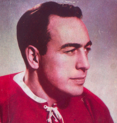 Toe Blake 1947 Montreal Canadiens