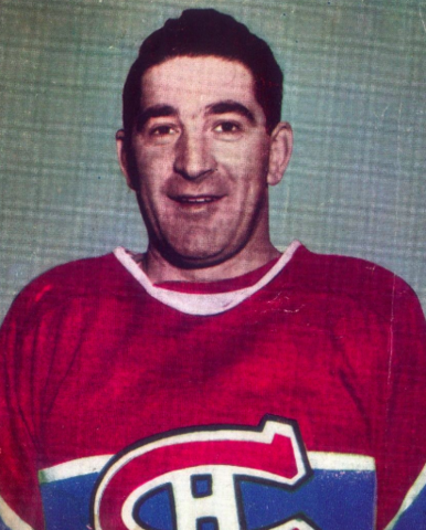 Roger Léger 1947 Montreal Canadiens