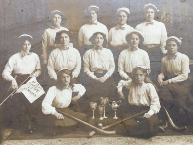 Clive Ladies Hockey Team 1911 Hawke's Bay Champions, New Zealand