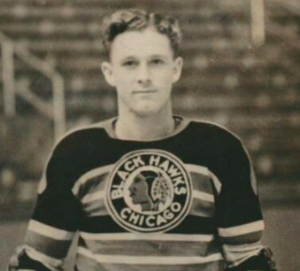 Des Smith 1940 Chicago Black Hawks