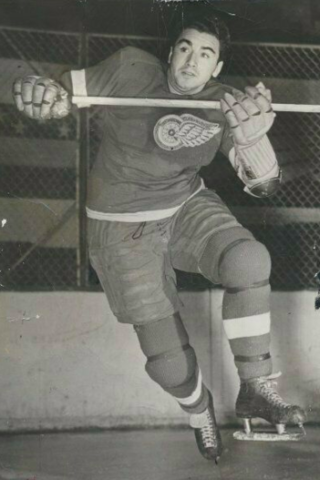 Jimmy Orlando 1941 Detroit Red Wings