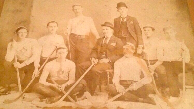 Montreal Nationals 1895 Le National de Montreal Hockey Team