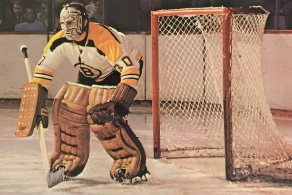 Gerry Cheevers 1971 Boston Bruins