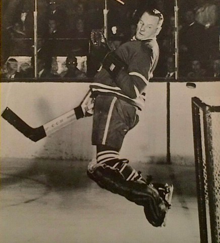 Johnny Bower 1963 Toronto Maple Leafs