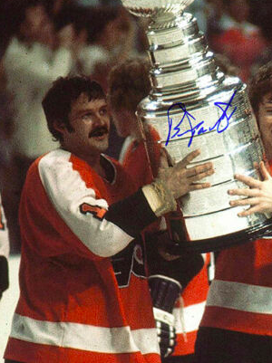 Bernie Parent 1975 Stanley Cup Champion