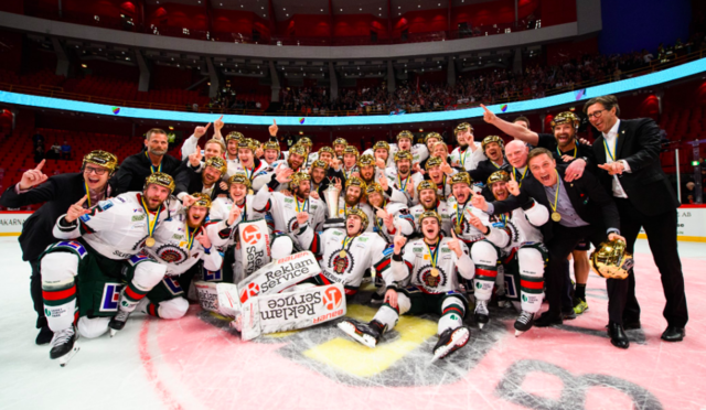 Frölunda HC 2019 Svenska Hockeyligan Mästare / Swedish Hockey League Champions