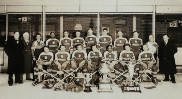 Buffalo-Ankerite Bisons 1941 Northern Ontario Hockey Association Champions