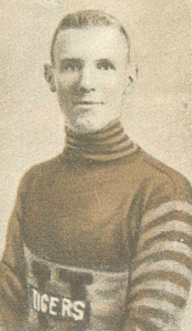 "Wilf ""Shorty"" Green 1924 Hamilton Tigers"