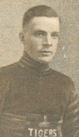 Billy Burch 1924 Hamilton Tigers