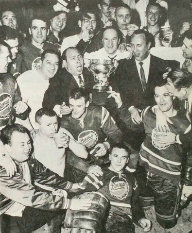 Buffalo Bisons 1963 Calder Cup Champions