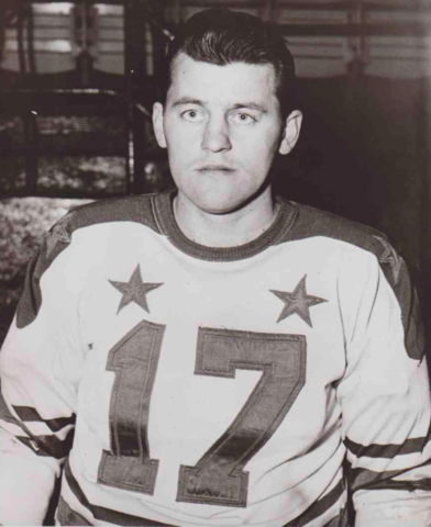 Eddie Olson 1953 American Hockey League First Team All-Star