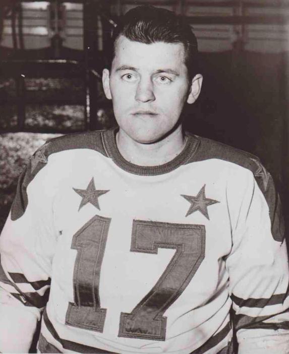 Eddie Olson 1953 American Hockey League First Team All Star Hockeygods