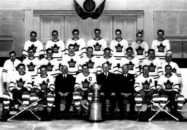 Toronto Maple Leafs 1948 Stanley Cup Champions