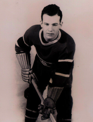 "Paul ""Polly"" Drouin 1936 Montreal Canadiens"