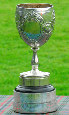 The Glasgow Celtic Society Cup - Oldest Trophy for Scottish Shinty