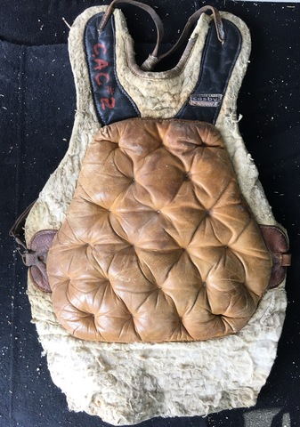 1940s Gerry Cosby Goalie Chest Protector