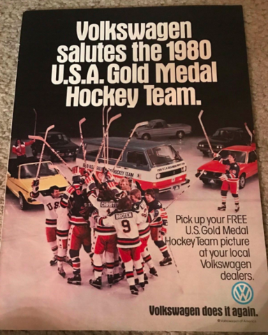 Volkswagen Salutes the 1980 U.S.A. Gold Medal Hockey Team