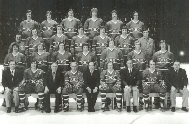 Montreal Canadiens Team Photo 1974