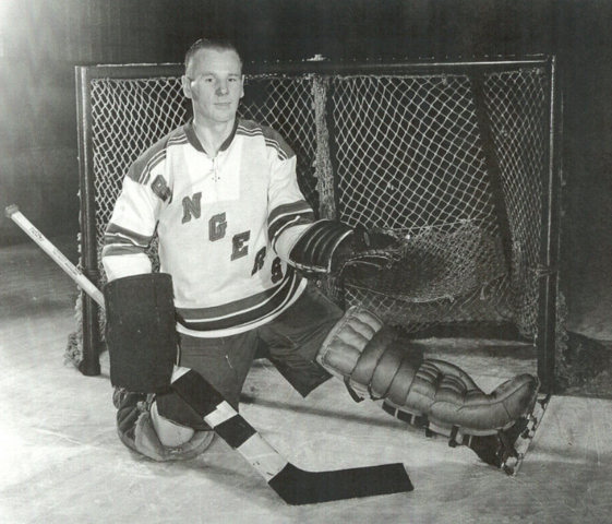 Johnny Bower 1954 New York Rangers