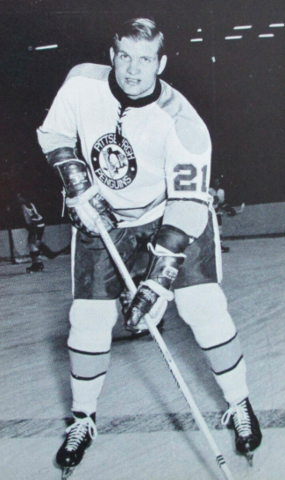 Billy Harris 1969 Pittsburgh Penguins