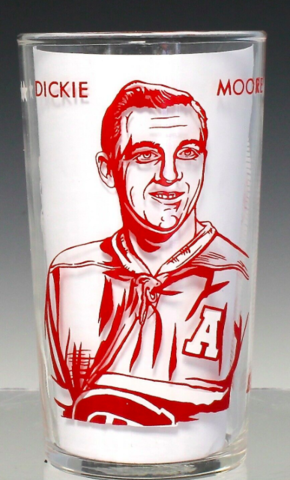 Dickie Moore 1960 York Peanut Butter Hockey Glass
