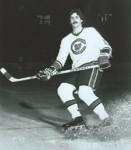 Fred Ahern 1976 Cleveland Barons