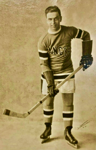 Billy Boyd 1927 New York Rangers